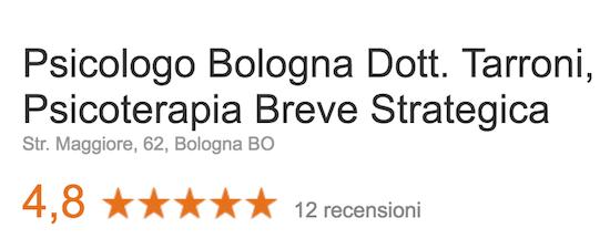 recensioni psicologo bologna